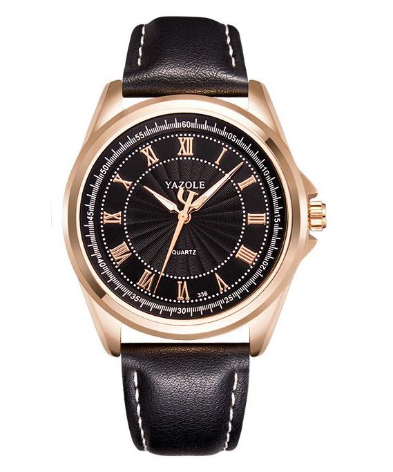 Zegarek Męski Yazole Różowe Złoto